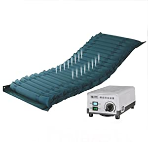 wei-d Alternating Pressure Relief Overlay medical air Mattress With Compressor Alternating Air Pressure Mattress for the Relief and Prevention of Bedsores , #1