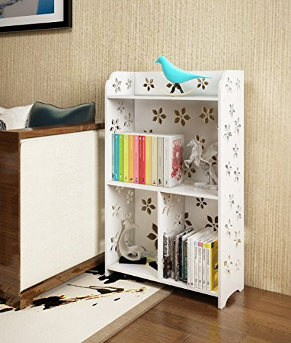 Mybestfurn Waterproof Fireproof Multipurpose Bookcase, 3-She