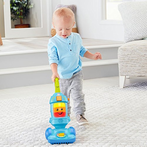 51jXXuBSrJL - Fisher-Price Laugh & Learn Light-up Learning Vacuum
