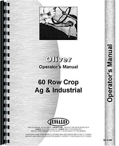 - Cockshutt 60 Tractor Operators Manual (OL-O-60)