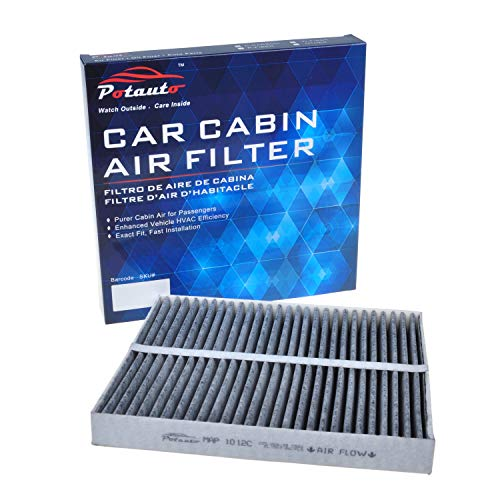 - POTAUTO MAP 1012C (CF10372) Replacement Activated Carbon Car Cabin Air Filter for MAZDA, 6(Upgraded with Active Carbon)