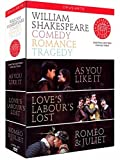 Shakespeare: Comedy; Romance; Tragedy (As You Like It; Loves Labours Lost; Romeo and Juliet) [DVD] [2010] [NTSC]