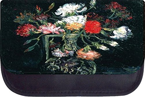 Van gogh vase with red and white carnations Pencil Case