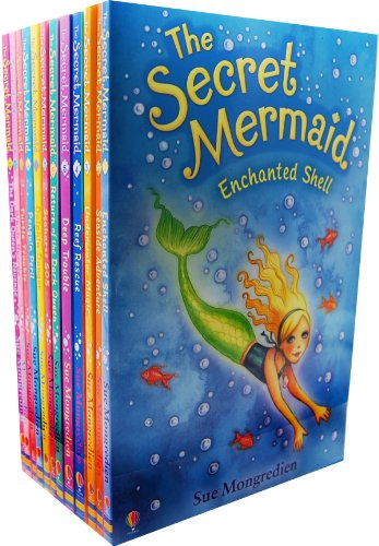 - The Secret Mermaid Collection, 12 Books RRP 59.88 (Enchanted Shell; Seaside ...