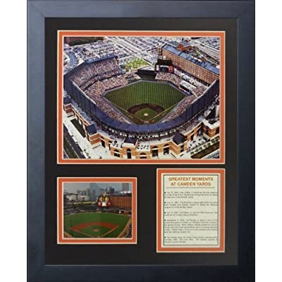 Legends Never Die Baltimore Orioles Camden Yards Framed Photo Collage, 11 by 14-Inch by Legends Never Die