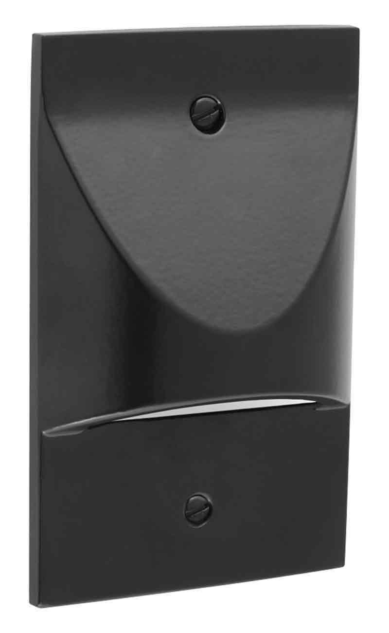 Progress Lighting P6829-31 Progress LED Vertical Step Light, Black by Progress Lighting