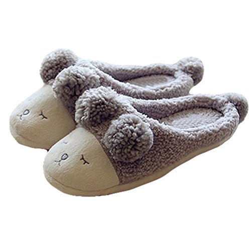 bismarckbeer® Chaussons bismarckbeer® Gris Pour Pour Chaussons Femme dwfzTvqw