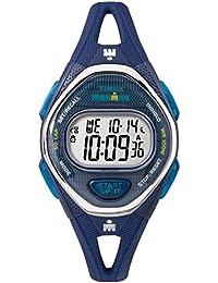 Women's TW5M13600 Ironman Sleek 50 Navy Silicone Strap Watch