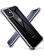 "Joyguard iPhone 11 Case with [2*Tempered Glass Screen Protector], iPhone 11 Case Shockproof 【Air Cushion】 iPhone 11 Case and Screen Protector iPhone 11 Case Clear -(6.1"")"