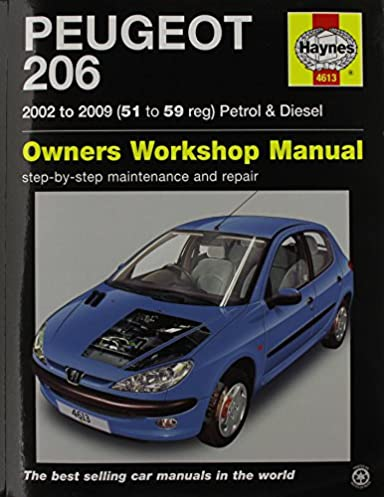 peugeot 206 petrol diesel 02 09 haynes repair manual amazon rh amazon co uk peugeot 206 1.9 diesel user manual peugeot 206 1.4 hdi repair manual