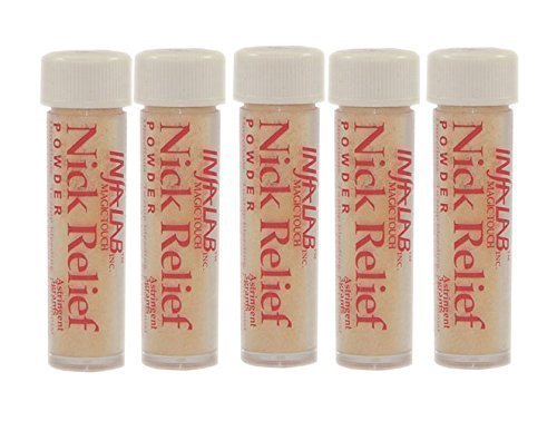Infalab Nick Relief Styptic Powder, 5 Co .