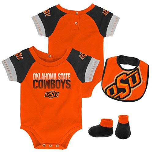 Outerstuff Infant Oklahoma State University Creeper Set Baby Snapsuit Set (12 M)