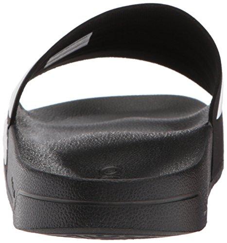 Adidas Neo Mens Cf Adilette Slide Sandalo Core Nero / Bianco / Nero