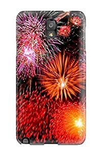 Jaime Olvera Fashion Protective Pretty Fireworks Case Cover For Galaxy Note 3