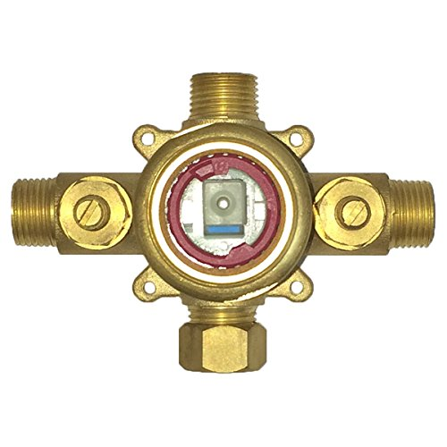 Pulse 3001-RIV-PB Tru-Temp Spa Shower Rough-In Valve, Brass by Pulse (Image #1)