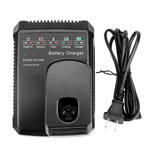 Topbatt Replace for Craftsman 9.6V-19.2V Battery Charger C3 Diehard Ni-Cd Ni-Mh Lithium-ion Battery 130279005 1323903 11375 11376 315.115410 315.11485