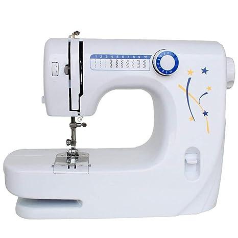 GSKTY Máquina de coser escritorio multifuncional hogar eléctrico miniatura 33.5 * 14 * 24 cm