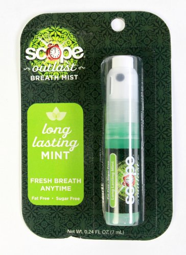 Scope Outlast Breath Mist in Long Lasting Mint, 0.24 fl oz - Pack of 3