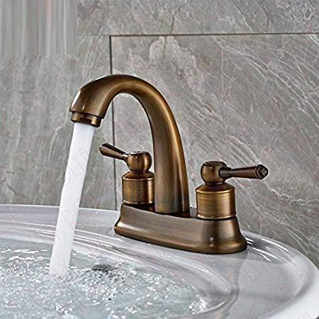 Rotooy Armaturen Antik Messing Toilette Wasserhahn Badezimmer