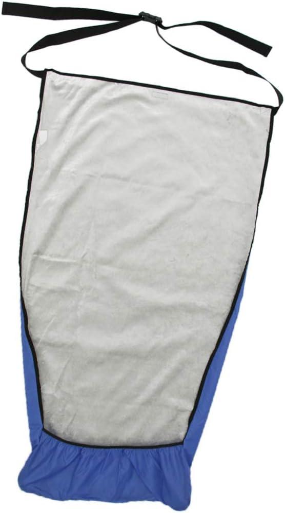 CUTICATE Manta De Protección A Prueba De Viento Manta Para Silla De Ruedas Cubiertas Tibias, Azul - Azul S