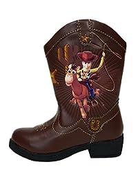 Disney Pixar Toy Story Woody Light up Toddler Boys Cowboy Boots