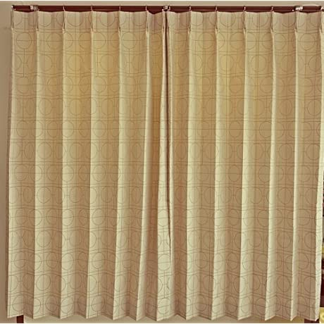 Drapes Form Stable Processing With Ivory 100cm 135cm2 Disc 628904BO