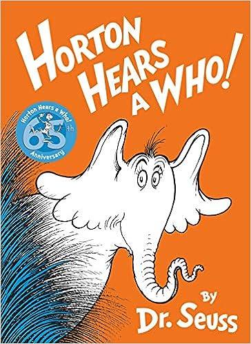 Amazon.com: Horton Hears a Who! (8580001050164): Dr. Seuss: Books