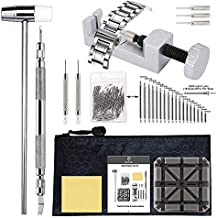 Watch Band Tool Kit - Watch Link Remover, Spring Bar Tool Set for Watch Repair and Watch Band Replacement (Renewed)