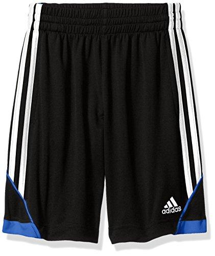 adidas Big Boys' Dynamic Speed Short, Black/Blue, M