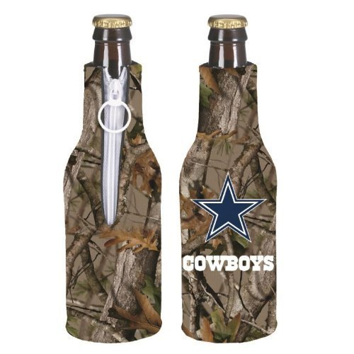 NFL Football Vista Camo Bottle Suit Holder 2-Pack - Pick Team! (Dallas Cowboys)