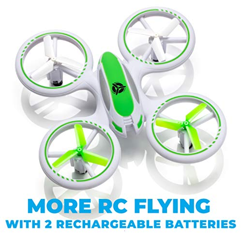 Force1 UFO 3000 LED Mini Drone for Kids – Remote Control Drone, Small RC Quadcopter for Beginners with LEDs, 360 Flips…