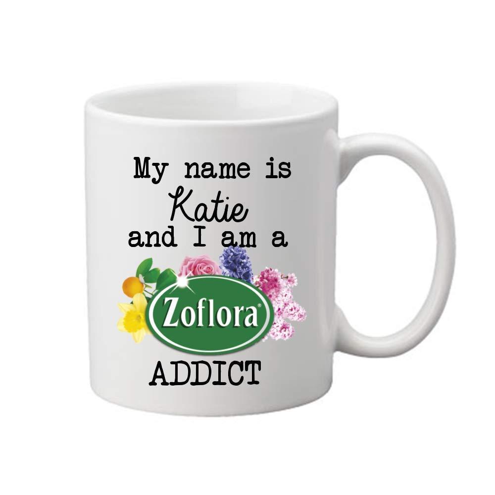 PERSONALISED ZOFLORA ADDICT MUG