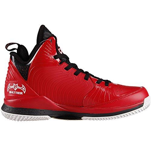 Picco Mens Nba Player Esclusivo Battier Ix Scarpe Da Basket Rosso / Nero