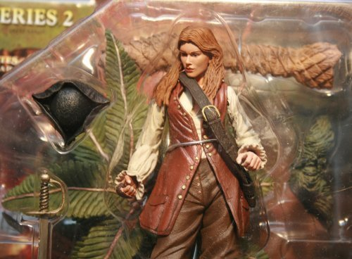 NECA Pirates of the Caribbean Dead Man's Chest Series 2 Action Figure Elizabeth Swann