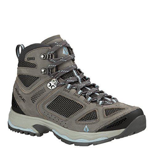 Vasque Women's Breeze Iii Gtx Hiking Boots, Gargoyle/Stone Blue 8