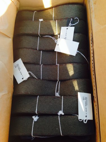 Military Webbing Straps w/ Ring, Cotton, 40 Units, 1.75'' X 15' New by U.S G.I