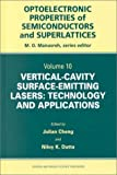 img - for Vertical-Cavity Surface-Emitting Lasers: Technology and Applications (Optoelectronic Properties of Semiconductors and Superlattices) by Julian Cheng (2000-07-06) book / textbook / text book