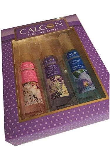 Calgon Gift Set Japanese Cherry Blossom Lavender Vanilla Mor