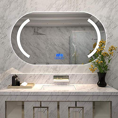 Ryan's LED Light Smart Bathroom Mirror Bathroom Wall-Mounted Cosmetic Mirror Bluetooth Music -