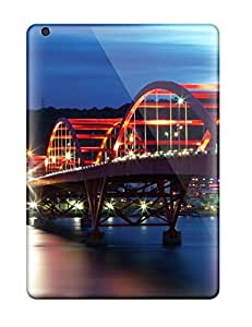 Flexible Tpu Back Case Cover For Ipad Air - Guandu Bridge Taiwan
