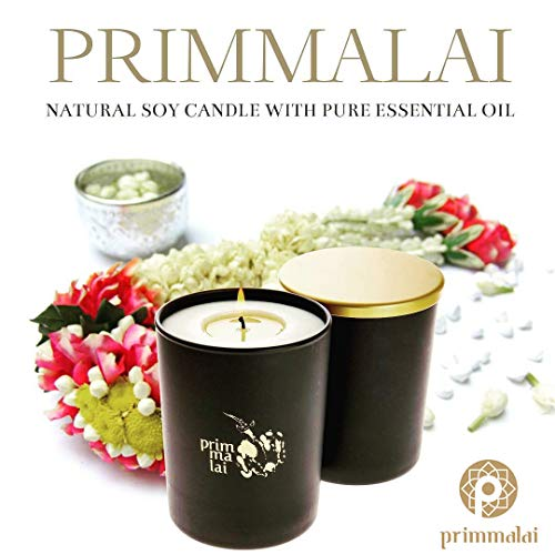 - PRIMMALAI Deluxe Scented Soy Candles Vividly Pandanus 380 Grams