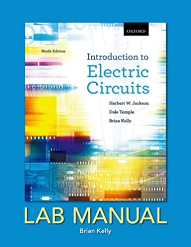 introduction to electric circuits lab manual herbert w jackson