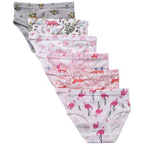 benetia Baby Underwear Girls Cotton Soft Pack 6 Pack 2t 3t]()