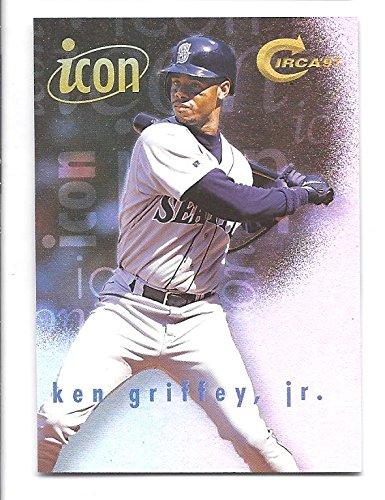 KEN GRIFFEY, JR. 1997 Fleer Circa Icon #2 Card Seattle Mariners - Icon Circa