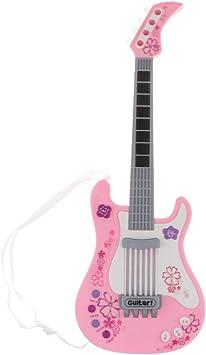 B Blesiya Juguete de Guitarra Eléctrica Acústica con Canciones ...
