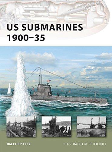 US Submarines 1900-35 (New Vanguard) ()