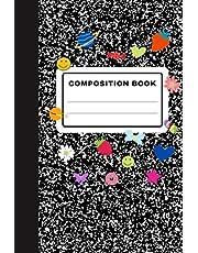 Composition Book: Olivia Rodrigo Sour Album Inspired Black and White School Journal Notebook