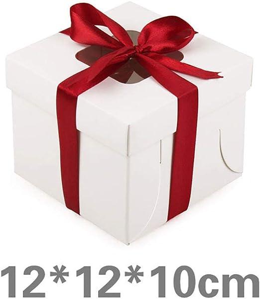 NACOLA Cajas para Tartas bandejas para Tartas y cartón para ...