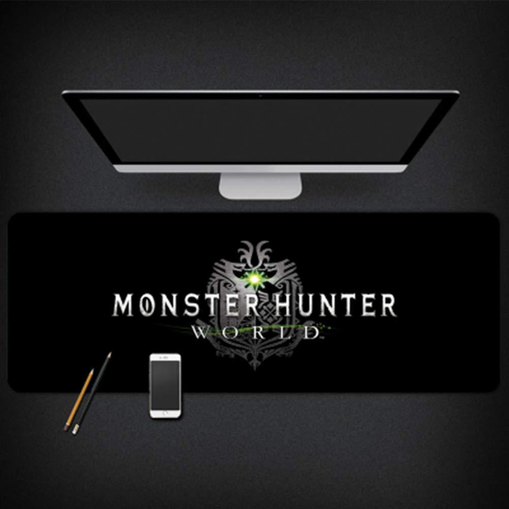 GUOFENG Alfombrilla de ratón para Estudio de Ordenador Monster Hunter World, Color 6, 800 * 300 * 3mm: Amazon.es: Electrónica