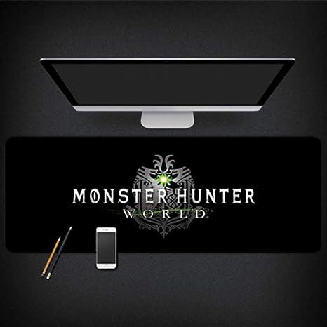GUOFENG Alfombrilla de ratón para Estudio de Ordenador Monster Hunter World, Color 6, 800